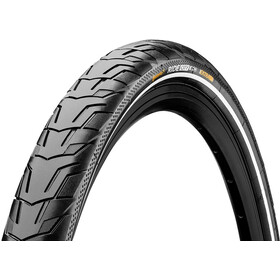 "Continental Ride City E-25 Dæk 28"" Reflex, black"